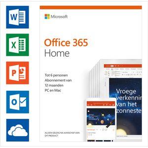 Office 365 home service abonnement