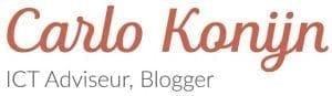 Carlo Konijn, ICT Adviseur & Blogger