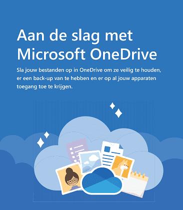 aan de slag met OneDrive