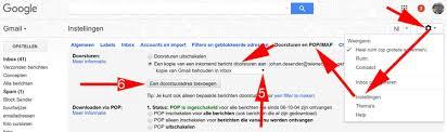 Gmail e-mail doorsturen naar @outlook e-mailadres