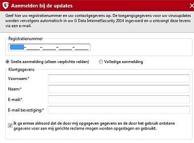 G-data antivirus activeren