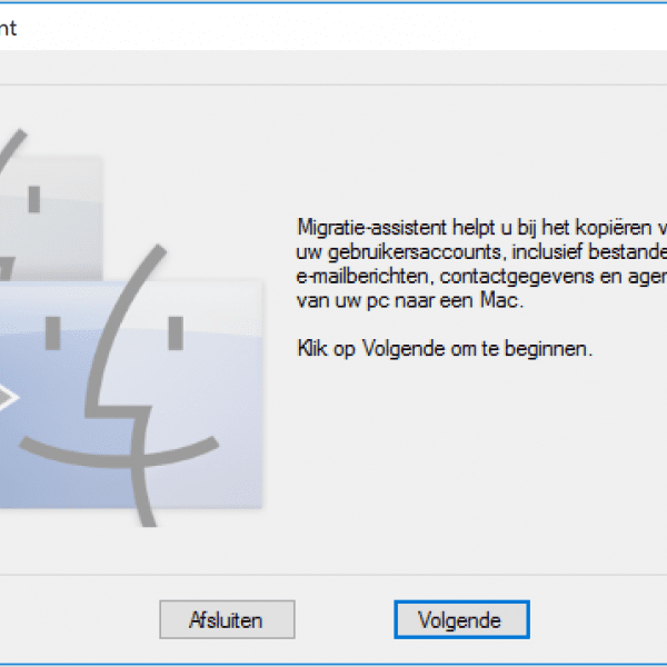 Windows 10 migratie assistent